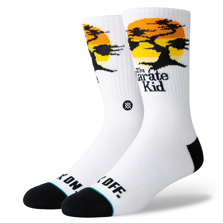 THE KARATE KID SOCKS